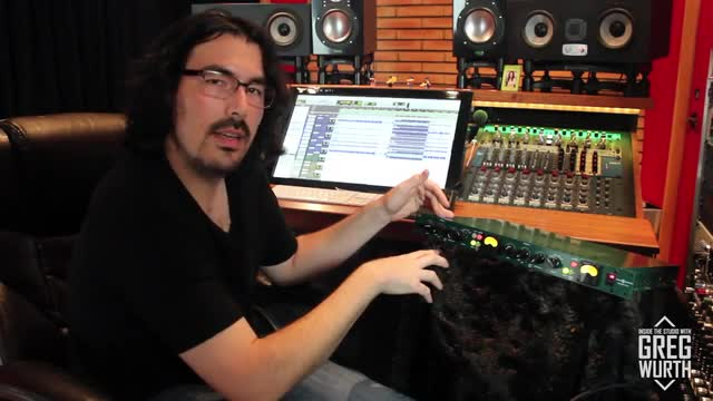 Inside The Studio with the Inward Connections Brute II Limiter