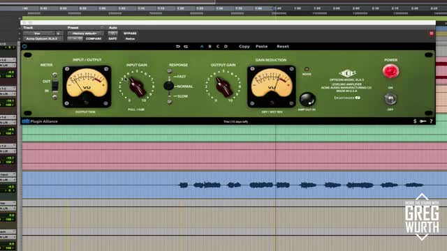 Using The Acme Audio Opticom XLA3 In A Mix