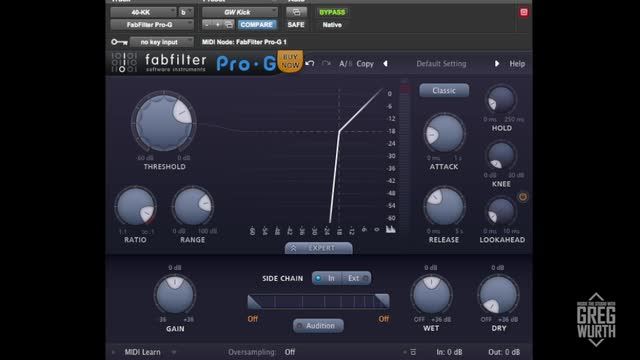 Fabfilter Pro G Gate Plug In Demo