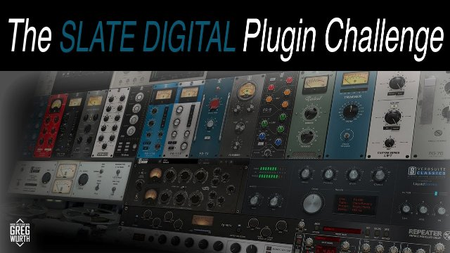 The Slate Digital Plugin Challenge