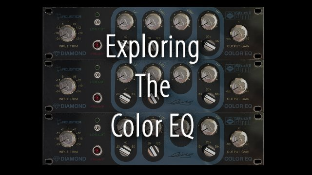 Exploring The Acustica Color EQ