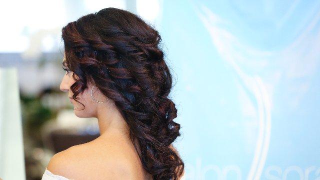SASHA- Romantic Curly Updo