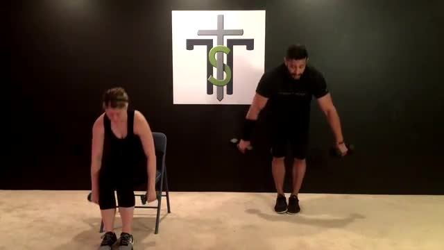 Cardio and Weights 32- Legs and Back