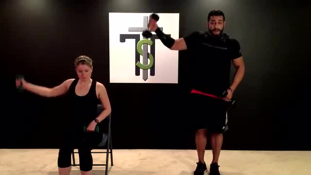 Cardio and Weights 21- Legs and Shoulders