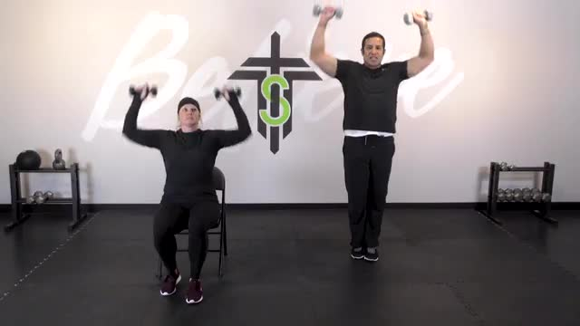 Cardio and Weights 04- Shoulders and Legs