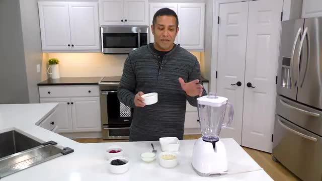 TST Kitchen- Protein Berry Ice Cream