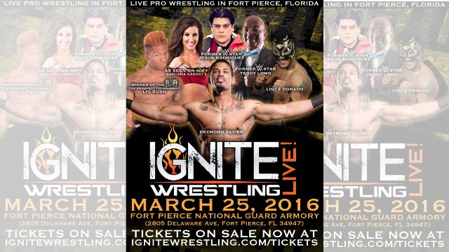 IGNITE Wrestling Live - March 25, 2016