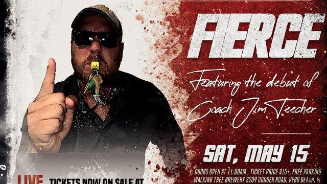 IGNITE Wrestling Presents Fierce:  Coach Jim Teecher vs Steve Beck