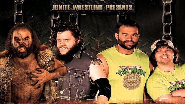 IGNITE Wrestling Unleashed:  Mosh & Mayhem vs That Klassic Tag Team