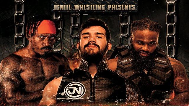 IGNITE Wrestling Unleashed: Jaden Newman vs Marquis Carter vs Sage Scott