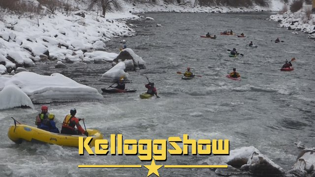 KelloggShow - New Years Day Paddle