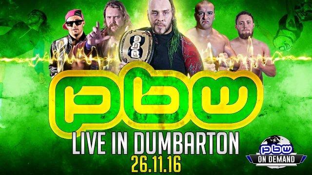 PBW LIVE IN DUMBARTON 26.11.16