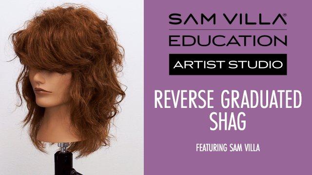 Reverse Graduated Shag