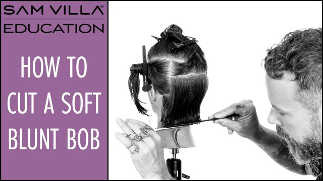 How to Cut a Soft Blunt Bob