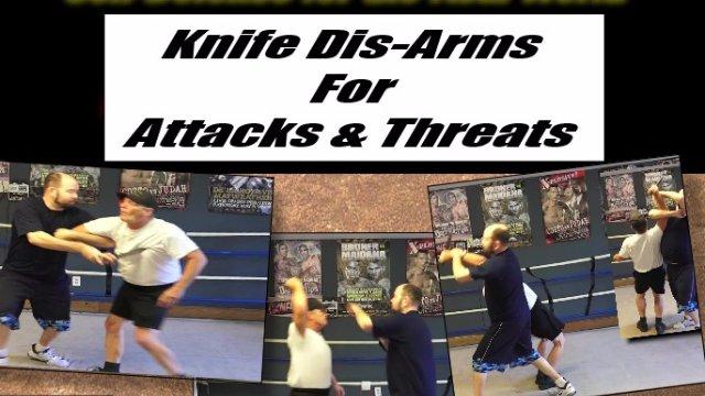 Knife Defense & Disarms
