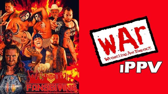 WAR Wrestling Presents Fansgiving