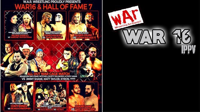 WAR WRESTLING PRESENTS WAR 16