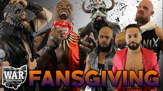 WAR Wrestling's Fansgiving