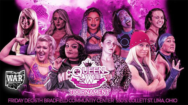 WAR Wrestling Presents The Queen of WAR