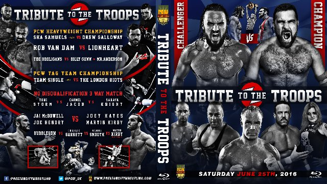 PCW Tribute To The Troops 2016