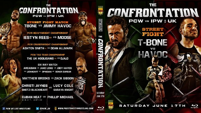 PCW vs IPW The Confrontation - Blackpool Tower Circus 2017