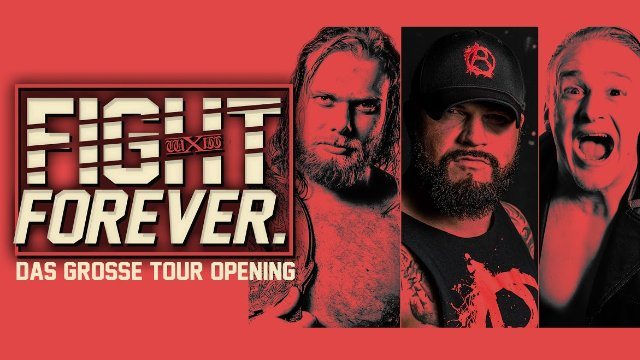 2017.08.05 wXw Fight Forever Tour Opening