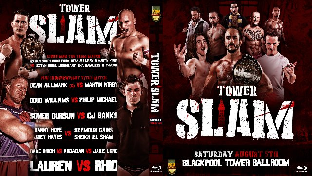Tower Slam - Blackpool Tower Ballroom - 5th August 2017