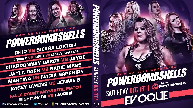 PowerBombShells - Dec 16th Evoque Preston