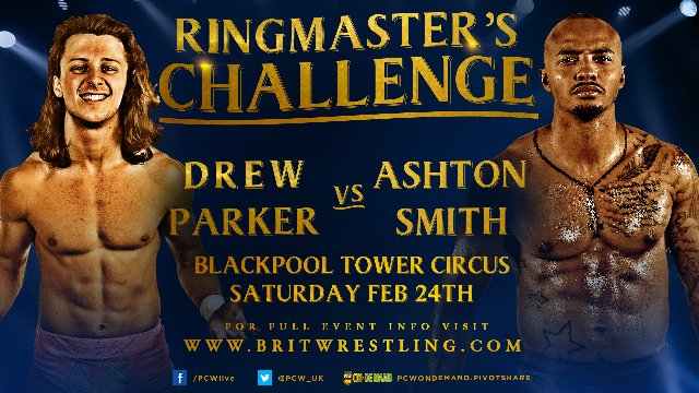Ringmasters Challenge Feb 24th 2018 - Blackpool Tower