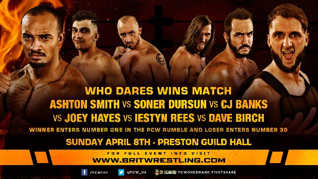 Who Dares Wins 2018 - Preston Guild Hall