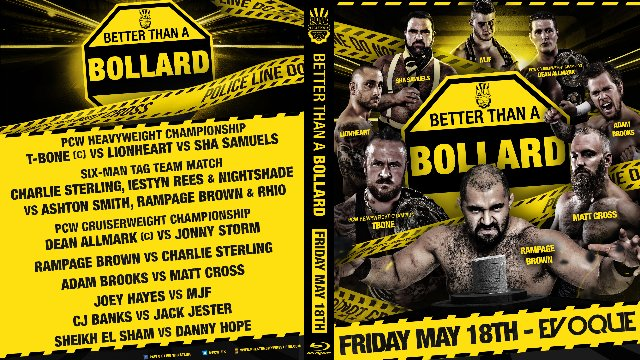 Better Than A Bollard - 18/05/18 - Preston