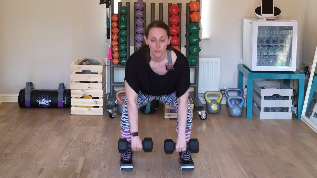 001 - Squat, Stand, Curl and Fast Feet Pivots