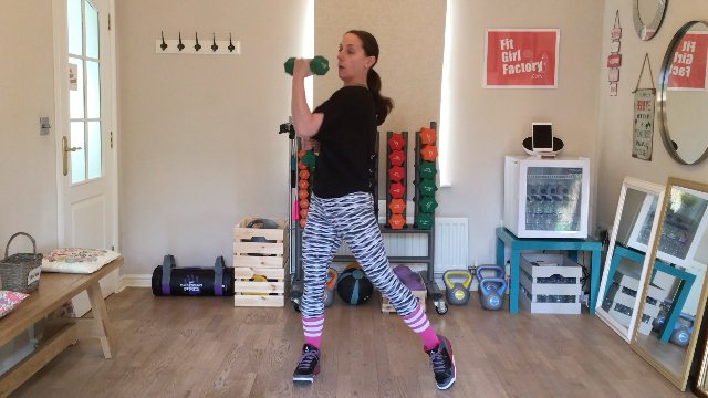 002 - Weighted Upper Cuts and Jump and Knee Raise