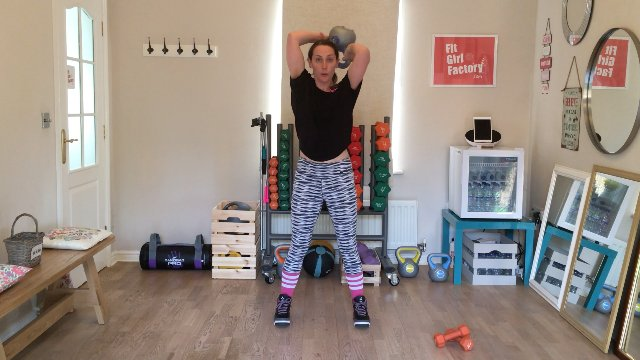 003 - Around the World with Squat and Weighted Sprint