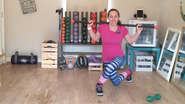020 - Curtsey Lunges and Lawnmower Jacks