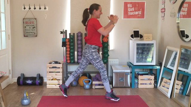 028 - Elbow Strikes and Lunge Hops