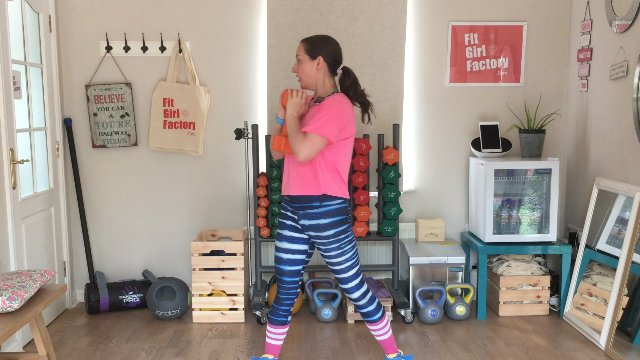 046 - Goblet Squat to Twist and Arching Crunch