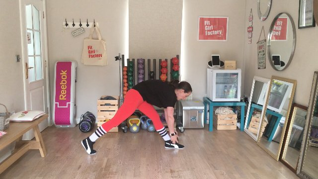 101 - Lunge Deadlift and Happy Feet