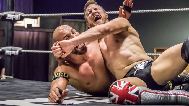 PROGRESS World Title Match: Kane Khan vs Travis Banks (SPW Battle Lines)
