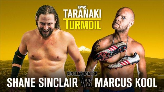IPW Taranaki Turmoil 2019: Shane Sinclair VS Marcus Kool