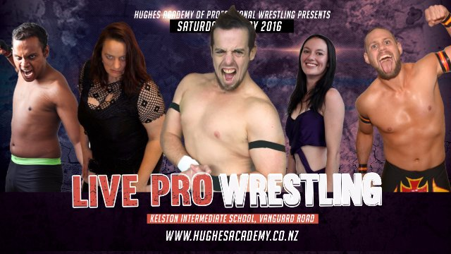 Live Professional Wrestling - May 7th 2016