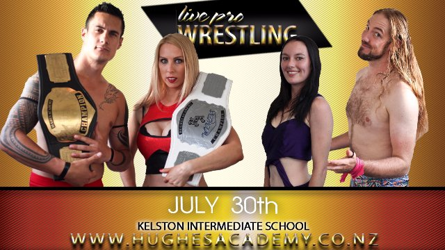 Live Professional Wrestling - July 30th 2016