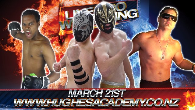 Live Professional Wrestling - March 21st 2015