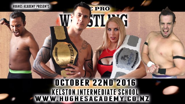 Live Professional Wrestling - October 22nd 2016
