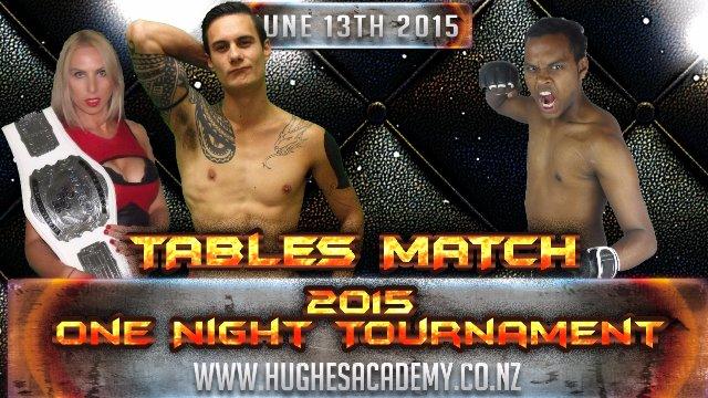 Live Professional Wrestling - June 13th 2015