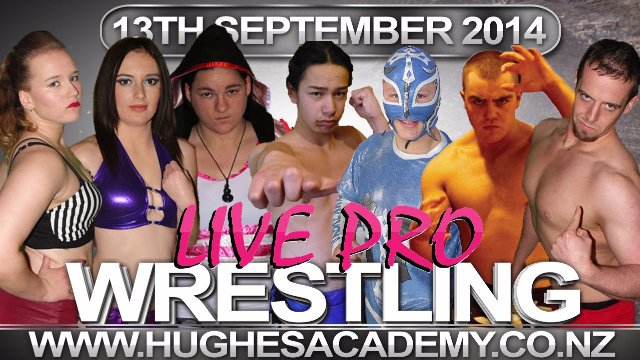 Live Professional Wrestling - September 13th 2014