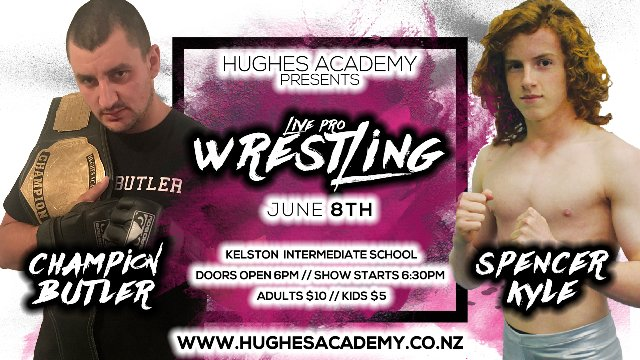 Live Professional Wrestling - June 8th 2019