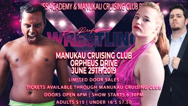 Live Pro Wrestling - June 29th 2019