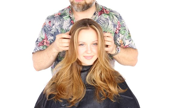 Balayage Technique with Stephen
