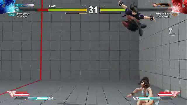 Cross Counter Training with Adan Salazar (Chun-li)